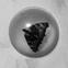 Namamātes konservi. 50x40 cm audekls/akrils, epoksīda sveķos iekausēti tauriņi, kamene, maijvabole un lapsene