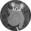 Koala lācis - latvietis. Rudens. Ūdensizturīgs saplāksnis, krāsa